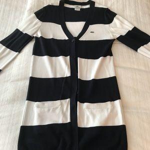 Women's Long Cardigan- Lacoste - size 12